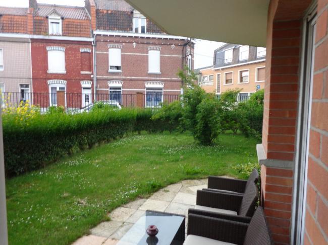 Ventes saint andr type 2 avec jardin vanderhaeghe for Achat appartement avec jardin